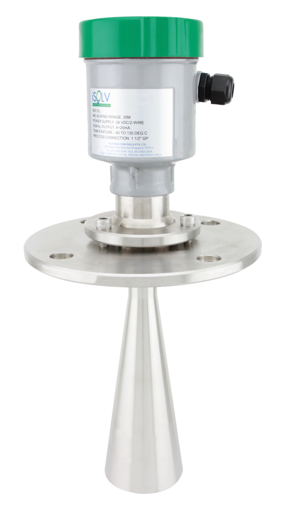 RD800 radar level transmitter exia 30 meter range