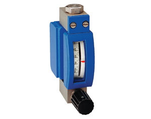 mmt18/19 miniature metal tube variable area flow meter