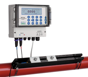 Clamp On Ultrasonic Flow Meter for Large Pipes TUF333