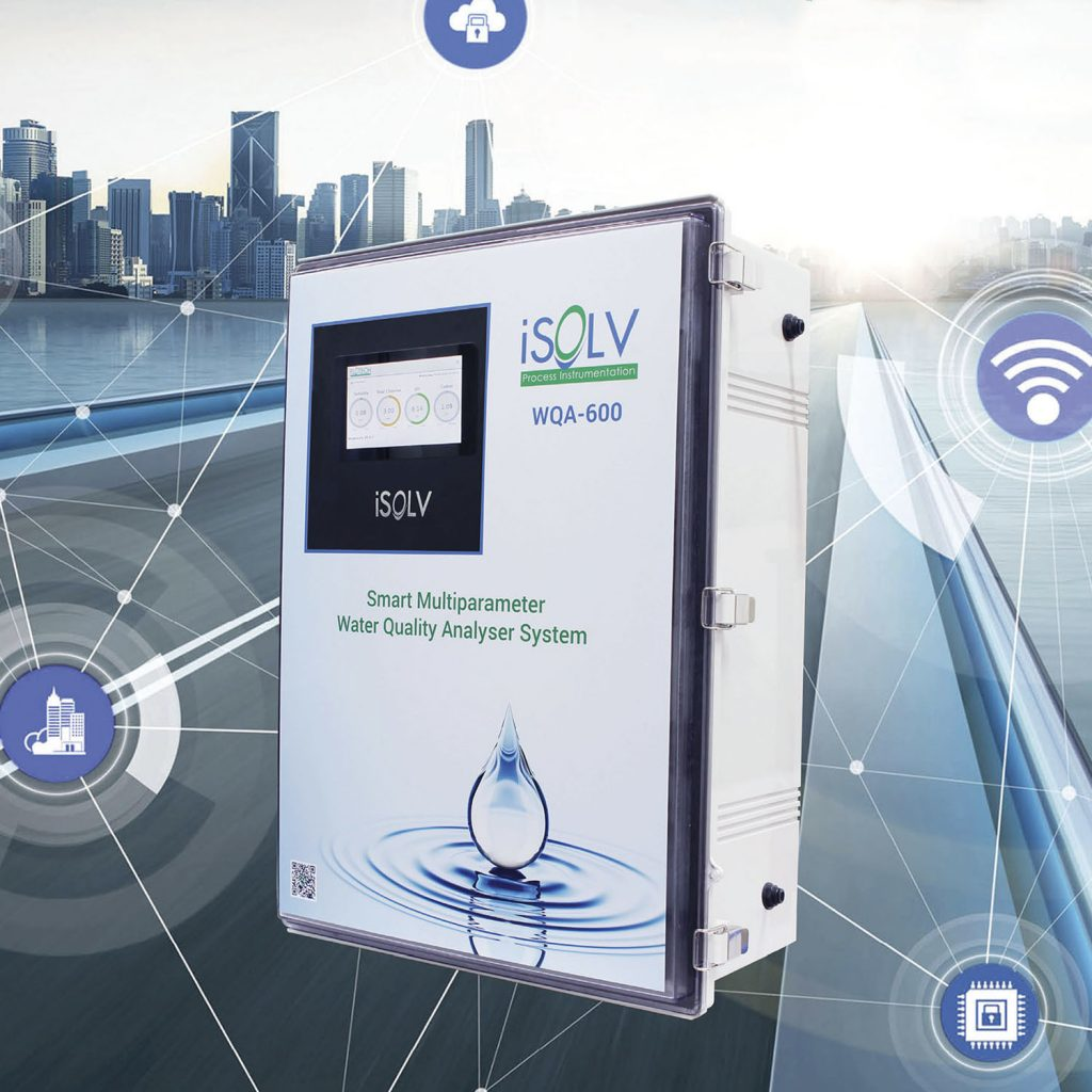 smart remote water quality monitoring system iiot