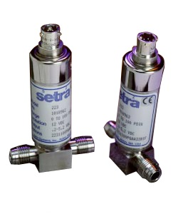 setra Model 223 high purity pressure transmitter