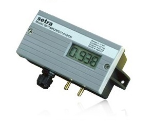 setra model 267 differential pressure measurement hvac transducer
